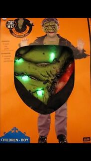 HALLOWEEN FRANKENSTEIN LIGHT UP/ VOICE ACTIVATED BOYS COSTUME Robina Gold Coast South Preview