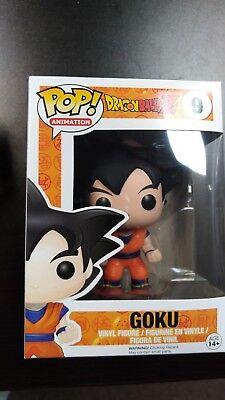 Funko POP Dragon Ball Black Hair Goku Hot Topic Exclusive