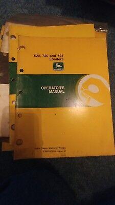 jd 725 manuals