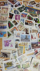 $39.99  for 5000 Australian used decimal stamps kiloware collection
