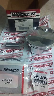 Wiseco Forged Piston 9891m10795 Harley Davidson V-rod Vrsca Cr2001-10 Front