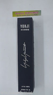 Yohji Yamamoto Homme Men After Shave Lotion 1.7 Oz/ 50 Ml In Box As Pictured