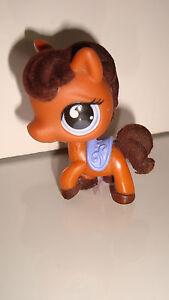 Rare figurine petshop littlest pet shop cheval marron - Cheval petshop ...