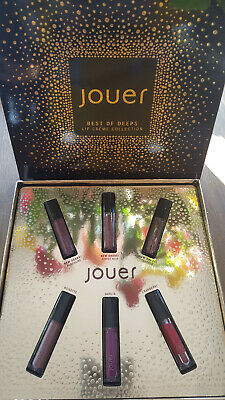 Jouer Cosmetics -Best Of Deeps Mini Lip Creme Liquid Lipsticks