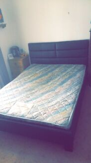 Wanted: Leather double bed