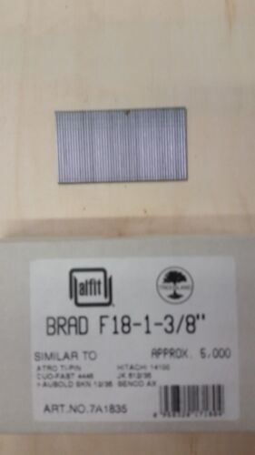 "18 Gauge 1 3/8"" Inch Brads Galvanized Brad Nails (5,000)"