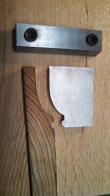 Woodmaster Moulding Knife And Gib Craftsman Four-square Baseboard