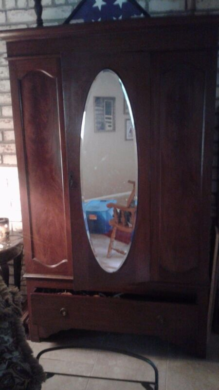 Clothes Armoire/Wood
