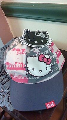 Hello Kitty Americana Baseball Cap -New With Tags -Adjustable Size