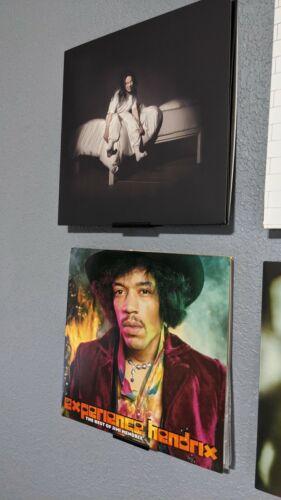 Vinyl Album Wall Display   Vinyl record wall mount display   Record shelf