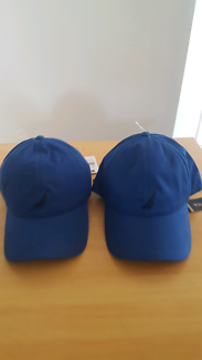 Blue Nautica hats/caps