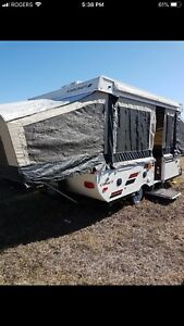 2014 Starcraft comet tent trailer with pop out