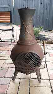 Cast iron potbelly fireplace Carrum Downs Frankston Area Preview