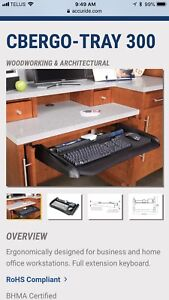 Accuride keyboard tray