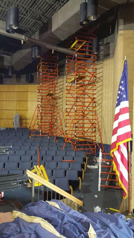 Fiberglass scaffold