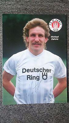 Usado, AK m.Orig.AG Michael Dahms FC St. Pauli Saison 88/89 segunda mano  Embacar hacia Mexico
