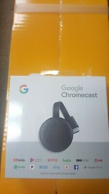 Google Chromecast Streaming Media Player BRAND NEW