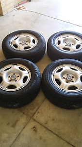 Honda crv rims and tyres 205/70 r15 Seville Grove Armadale Area Preview