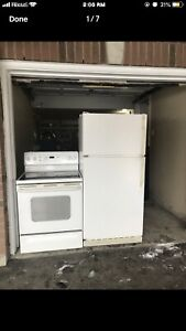 GE full working Fridge can DELIVER
