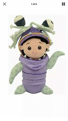 DISNEY PARKS PIXAR Monsters Inc BOO IN MONSTER COSTUME Plush DOLL Toy 12