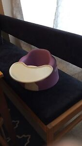 Purple bumbo with tray