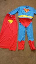 Superman costume fancy dress up with hard muscles Brentwood Melville Area Preview