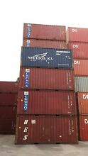 SHIPPING CONTAINERS - Used 20' containers from $1600 Brooklyn Brimbank Area Preview