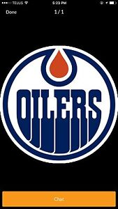 Wanted oiler Tickets for tonight