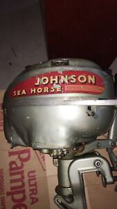 1950 Johnson seahorse 2.5 hp outboard