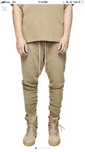 Represent Clo. Military Essential Joggers Washed Tan Size 30