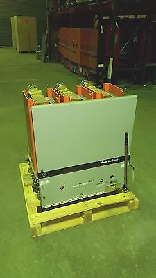 General Electric GE VB 4.16-350-3 Power Vac Circuit Breaker  3,000 Amps 48VDC