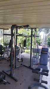 Smith machine, bench, crossover weights machine. Roleystone Armadale Area Preview