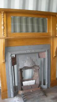 Federation Fireplace with mirror and metal insert Kenthurst The Hills District Preview