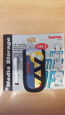 MP3-Player-Tasche HAMA Größe 2 (110mm) Universal Media Storage emotion 00083821