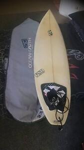 Surfboard and cover Maroochydore Maroochydore Area Preview