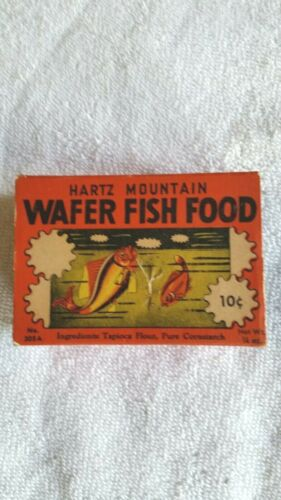 Vintage Hartz Mountain Wafer Fish Food