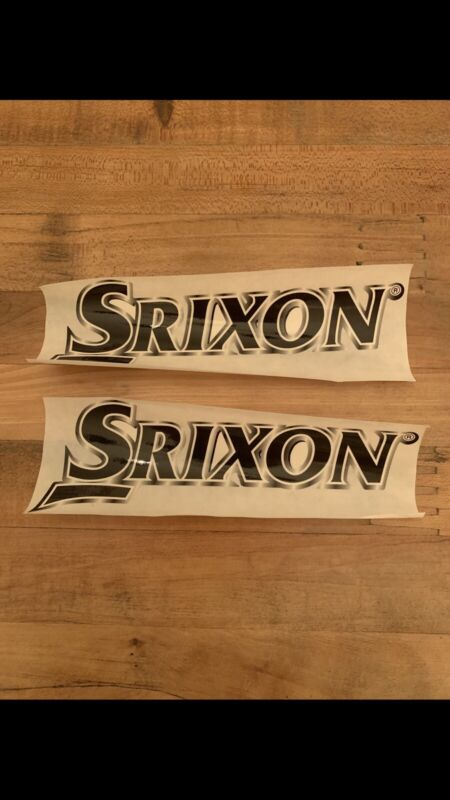 "2 Each Srixon Large 5"" Stickers"