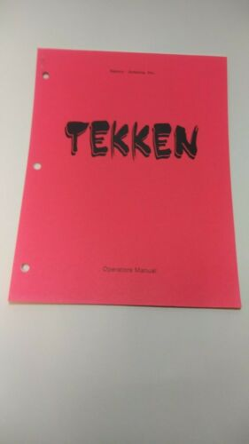 Tekken Operators Manual by Namco