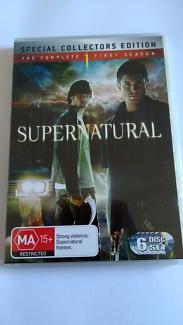 Supernatural DVD collection