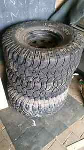 35 inch mud tyres Wodonga Wodonga Area Preview