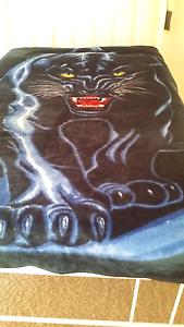 Black Panther Mink Blanket Mandurah Mandurah Area Preview
