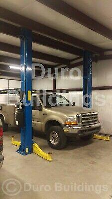 Durobeam Steel 30x32x16 Metal Building Workshop Auto Lift Home Garage Kit Direct