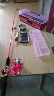 Girls junior fishing rod combo Doubleview Stirling Area Preview