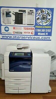 Xerox Workcentre 7970 Color Printer Copier Scanner Booklet Finisher 70ppm
