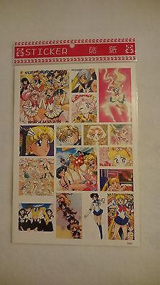 Sailor Moon Sticker (Bogen, 16 Sticker)