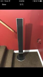 LG surround sound speakers and blue ray player