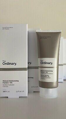 The Ordinary Natural Moisturizing Factors + HA Hyaluronic Acid 100ml Smooth Skin