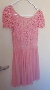 NEW Angel Biba Boutique dress in musk pink - size 12 Latham Belconnen Area Preview