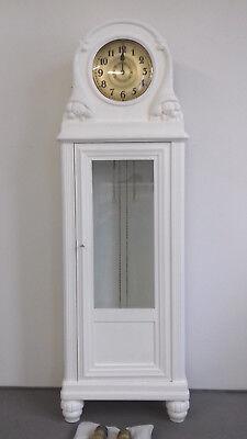 Standuhr - Jugendstil - komplett restauriert - Uhrwerk frisch Gewartet