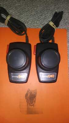 Atari 2600 Set of Driving Paddles, Tested and Cleaned! NO JITTER! READ BELOW!